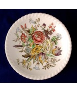 "Johnson Bros Garden Bouquet Windsor Ware 6.25"" Saucer - $5.00"