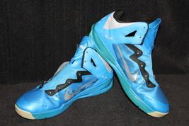 Nike Zoom Hyperchaos Blue / Grey / Black 536841 400 Size 13 EUR 47.5 - $36.99