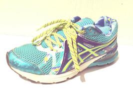 Womans 7 Asics T480Q Preleus Gel Blue Mesh Running Training Sneaker Shoe... - $17.09