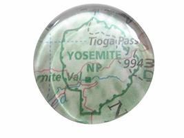 Kiola Designs Yosemite National Park Map Pendant Magnet - $19.99
