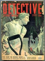 Detective Story Magazine Pulp November 1942- Five From the Marble Angel G/VG - $47.92