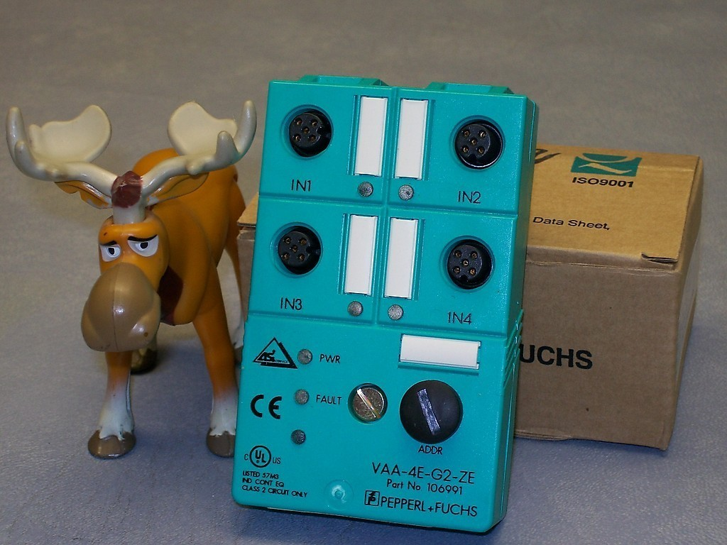 VAA-4E-G2-ZE Pepperl & Fuchs AS- Interface Sensor Module