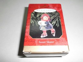 "1999 Hallmark ""Sweet Skater"" Keepsake Ornament With Box, QX6579 - $4.99"