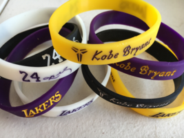 Kobe Bryant 4 set of power energy wristbands - $5.00