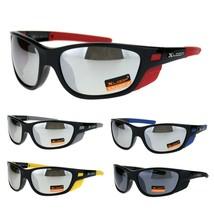 Xloop Mens Side Wind Breaker Oval Sport Biker Plastic Sunglasses - $9.95