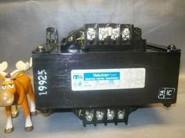 VF1K0BTZ13JK Valutran Control Transformer Pri. 220-480  Sec 110-120 - $500.16