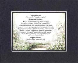 Personalized Touching and Heartfelt Poem for Wedding - A Marriage Blessi... - $22.72