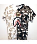 Bape A Bathing Ape Shark Shirt Japan Imported T Shirts Brand New REFLECTIVE - $39.95