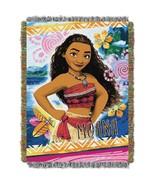 "Moana, ""Island Girl"" Woven Tapestry Throw Blanket - $31.95"