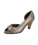 FLORAL Gigi Women's Wide Width Peep-Toe Dress Pumps - $39.95
