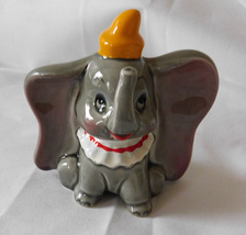Vintage Ceramic Figurine Walt Disney Productions Dumbo Elephant MIJ Japan - $9.99