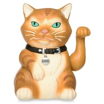 Disney Captain Marvel Goose the Cat Waving Statue New - $25.86