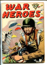 WAR HEROES #7-1944-DELL-PARACHOTE-PARATROOPER-WWII-BLOODY RIDGE-vg - $55.87