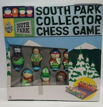 South Park Collector Chess Game Set 2004 New & Sealed (Box Damage) - $44.99