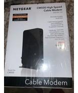 NETGEAR CM500 (CM500100NAS) 680 Mbps - Black - $32.98