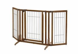 Richell Premium Plus Freestanding Pet Gate with Door - $144.25