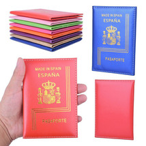 Spain Eco Leather Passport Holder Espanol Travel Cover Spaniard Identifi... - $5.99