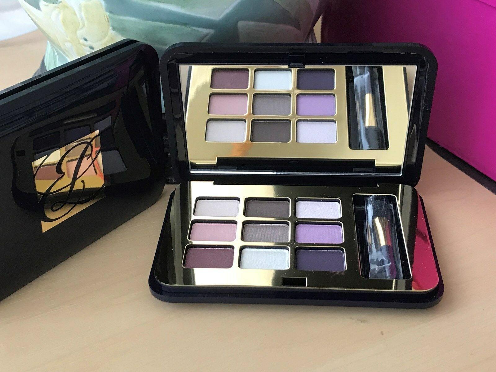 Estee Lauder Signature 9 Eyeshadow Palette Sand Smoky Pink Arctic Night Blue Smo - $22.28