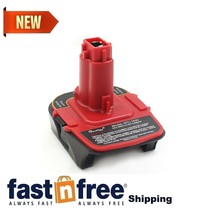 Waitley Battery Adapter for Dewalt DCA1820 18V-20V Converter with USB Pow... New - $20.29