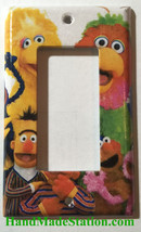 Sesame Street Big Bird Friends Light Switch Power Outlet Cover Plate Home decor image 2