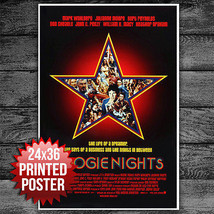 Boogie Nights Movie Poster 24x36 - $28.00