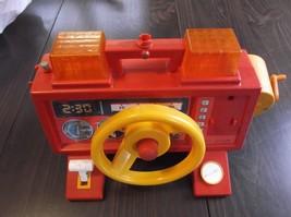 Vintage Fisher Price Fire Engine Steering Wheel 1985 - $10.00