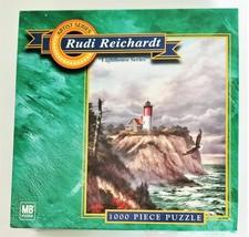 "Hasbro Jigsaw Puzzle Rudi Reichardt ""Nauset Light"" 1000 Pieces"