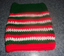Brand New Christmas Crocheted Dog Snood Neck Warmer For Dog Rescue Charity - $12.74
