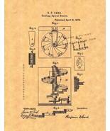 Folding Spiral Stairs Patent Print - $7.95 - $32.95