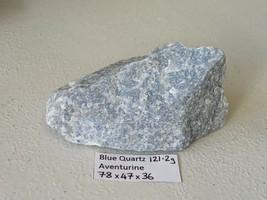 121.2g Natural rough blue AVENTURINE Quartz Crystal Cluster Specimen  - $22.53