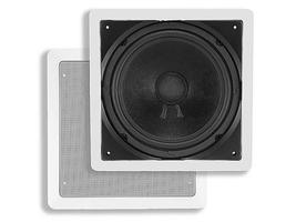 Monoprice In-Wall Passive Subwoofer - 10 Inch (Single) 200 Watts 10 - $43.39