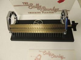 Sally Stanley Smocking Pleater 24-Row Needles Manual & Box EUC image 3