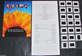 2002 YA-YA SISTERHOOD Movie Press Kit Folder, 20 Slide Captions, Product... - $31.49