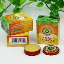 10pcs Golden Star Tiger Balm Headache Menthol Relief Balm Vietnam Headache image 3