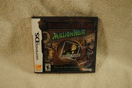 Mystery Case File Million Heir (Nintendo Ds, 2008) Complete - $22.49