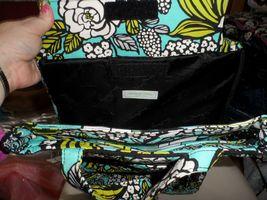 Vera Bradley laptop TRavel Tote In Island Blooms image 3