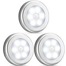 Motion Sensor Closet Light Motion Sensing Battery Powered LED Stick Anyw... - $29.75