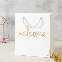 Crisky Welcome Bags Rose Gold Gift Bags for Wedding Hotel Guests, Birthday, Baby image 6