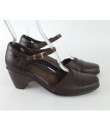 Dansko Mary Jane pumps brown leather 38 7.5 8 - $56.10