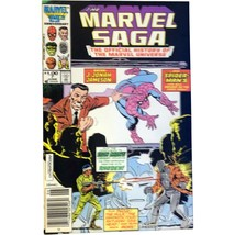 Marvel Saga #7 June 1986 Spider-Man Iron Man Thor Hulk Fantastic Four Co... - $14.99