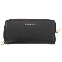 Mercer Continental Wallet Black Michael Kors - $138.99