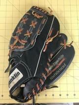 Vintage FRANKLIN No.4679 Baseball Glove Fielders Rawhide Laced Super Softballer - $32.29