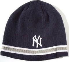 "NEW! ""Yankees"" New York Beanie by New Era Official MLB 47 Brand Navy Cap... - $49.38"
