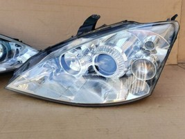 02-04 Ford Focus SVT HID Xenon Headlight Lamp Set L&R  - POLISHED image 2