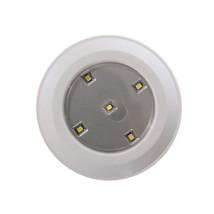 (1) Pc Kitchen Closet Under Cabinet LED Wireless Puck Lighting Light Nig... - $243,40 MXN
