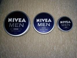 ORIGINAL NIVEA MEN CREAM Creme Face Body&Hands Moisturiser dry skin 30,7... - $3.71+