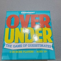 Over Under - The Game of Guesstimates - Card Trivia Party Game (Gamewright) - $14.26
