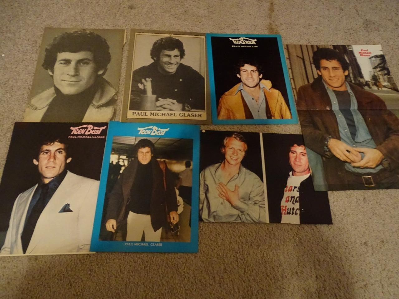 Paul Michael Glaser teen magazine pinups clippings Tiger Beat Starsky & Hutch