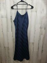 Womens Vintage Lingerie Cacique Medium Blue Spaghetti Strap Nightgown Ni... - $24.24