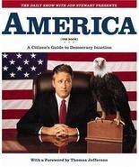 AMERICA Citizen's Guide to Democracy Inaction  Jon Stewart Hardback Book - $5.50